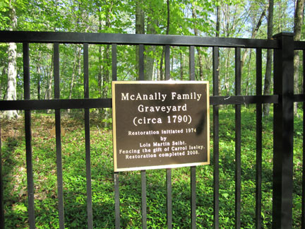 Captain Charles McAnally Family Cemetery
