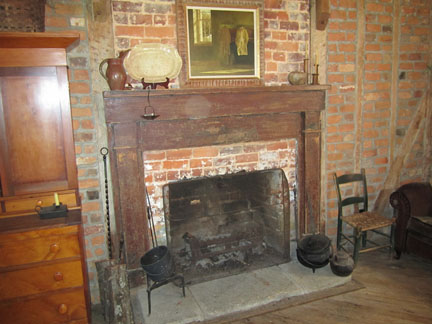 Inside the McAnally Plantation House